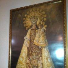Arte: NUESTRA SEÑORA DE LOS DESAMPARADOS.LITOGRAFIA ENMARCADA, 79X59, SIMEON DURA-VALENCIA AÑOS 50. Lote 122153959
