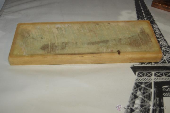 Arte: ANTIGUA TALLA DE LA SANTA CENA EN BRONCE con soporte de marmol pfs - Foto 15 - 53335721