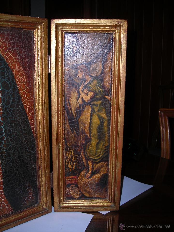 Arte: Bonito tríptico de la Virgen María. Comprado en el año 1975. - Foto 3 - 53455717