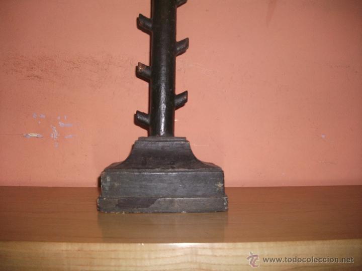 Arte: Cristo en talla de madera S.XIX - Foto 3 - 53685410