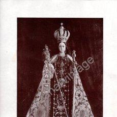 Arte: LITOGRAFIA DE LA VIRGEN DEL CARMEN, MURCIA,242X322MM. Lote 53689882