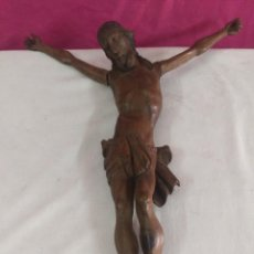 Arte: ANTIGUA TALLA ESCULTURA DE CRISTO . TALLADA EN MADERA. Lote 53761895