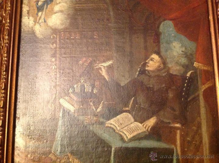 Arte: oleo sobre lienzo escribano XVIII - Foto 5 - 53821490