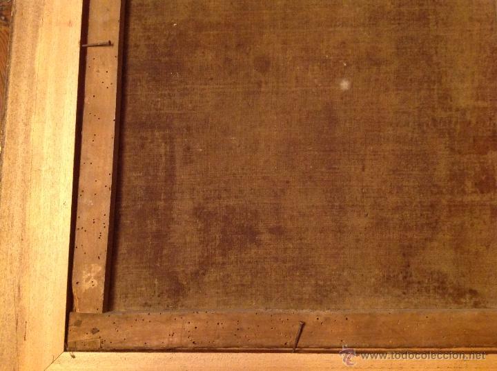Arte: oleo sobre lienzo escribano XVIII - Foto 8 - 53821490