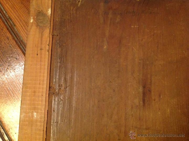"Arte: oleo sobre tabla O Tabla.S XVIII ""El tema icinografico seria -- aparicion de la Virgen a S. Juan - Foto 7 - 53821546"