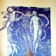 Arte: OBRA EN LITOGRAFÌA DEL ARTISTA VALENCIANO - RAFAEL ARMENGOL - 1997. FIRMADA POR AUTOR. Lote 180510057