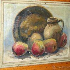 Arte: BODEGON DE MENDOZA-MALAGA 1973. Lote 131399654