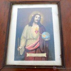 Arte: LITOGRAFIA, SIGLO XIX, CON BUEN MARCO DE EPOCA, 50 X 44. Lote 54012748