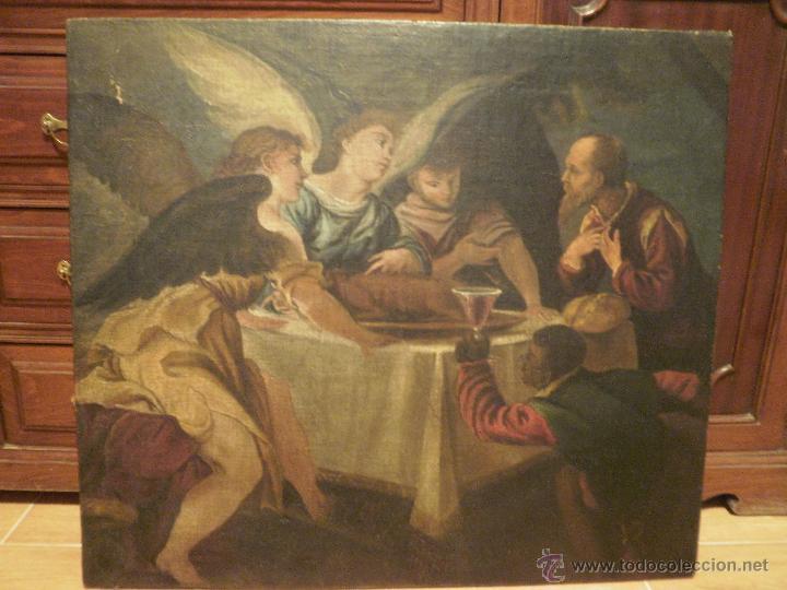 ÁNGELES. (Arte - Arte Religioso - Pintura Religiosa - Oleo)