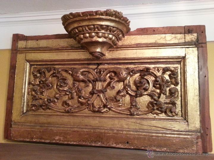 RETABLO ANTIGUO SIGLO XVI (Arte - Arte Religioso - Retablos)