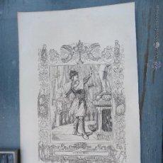 Arte: REF: KK - AÑO 1852 ORIGINAL GRABADO DE LA EPOCA RELIGIOSO - SAN JORGE MARTIR. Lote 54209048
