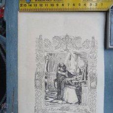 Arte: REF: KK - AÑO 1852 ORIGINAL GRABADO DE LA EPOCA RELIGIOSO - SAN LEON II PAPA Y CONFESOR. Lote 54209869