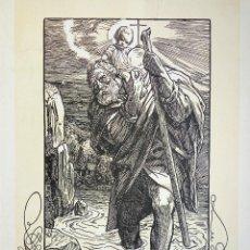 Arte: MARAVILLOSO GRABADO ORIGINAL, SIGLO XIX, 39 X 33 CM. Lote 54262862