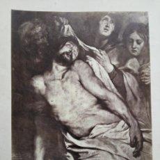 Arte: EL DESCENDIMIENTO DE LA CRUZ, 39 X 30 CM. Lote 54335843