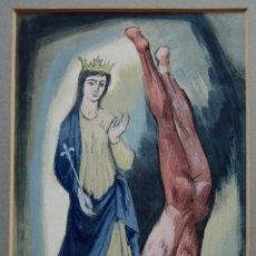 Arte: ANTHONY BAYNES (1921-2003) - NEOROMANTICISMO BRITÁNICO / SIMBOLISMO RELIGIOSO. Lote 54361518
