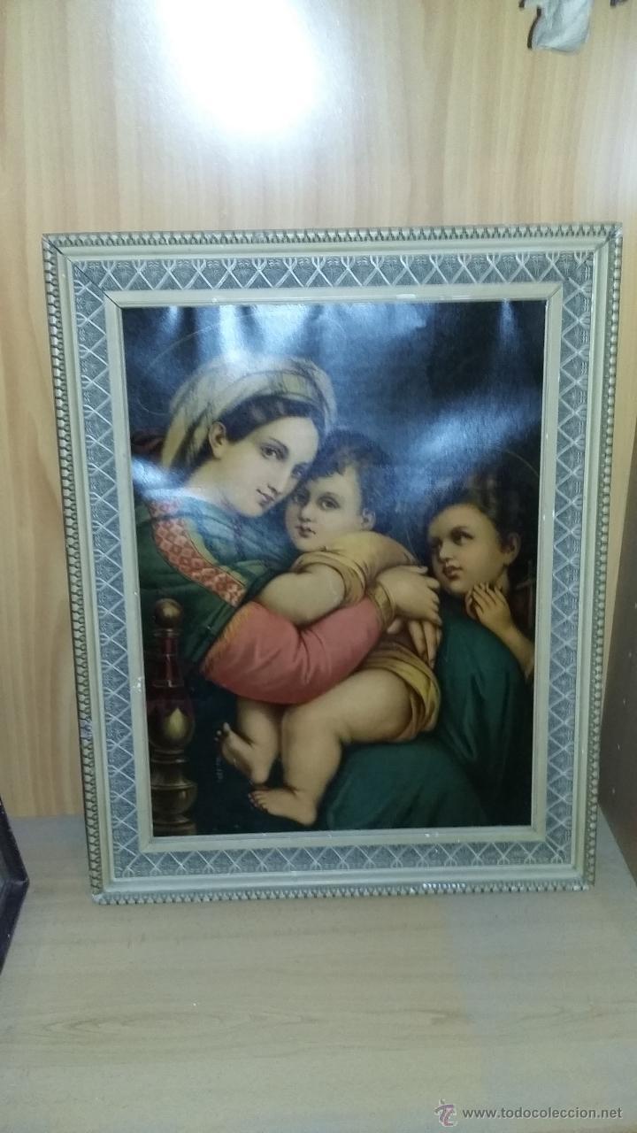 CUADRO BUEN TAMAÑO (Arte - Arte Religioso - Litografías)
