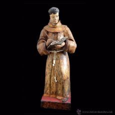 Gran Talla barroca madera policromada S.XVIII Fray Juan de Torquemada Español