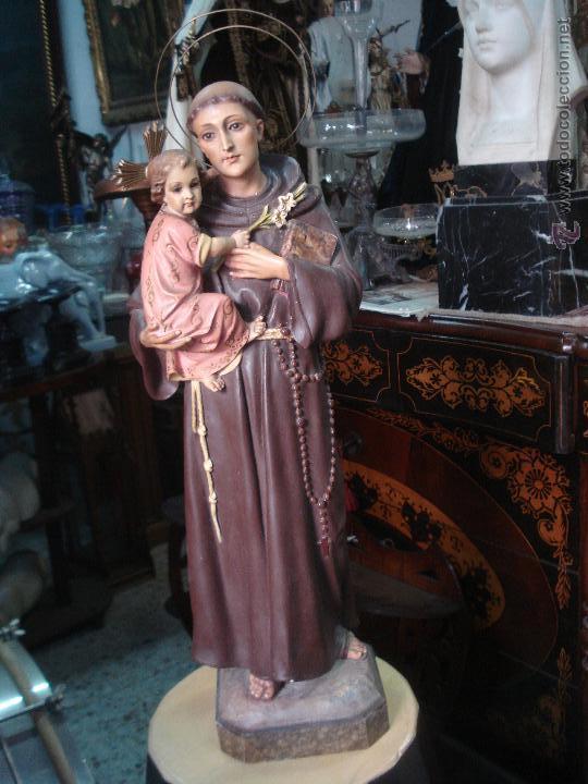 SAN ANTONIO DE ESTUCO DE OLOT (Arte - Arte Religioso - Escultura)