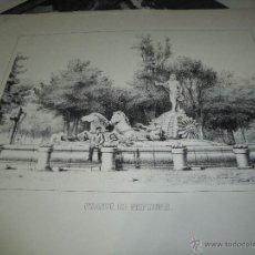 Arte: FUENTE DE NEPTUNO. Lote 54578192
