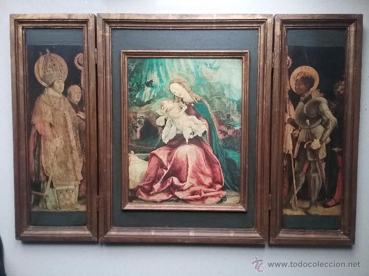 TRIPTICO (Arte - Arte Religioso - Trípticos)