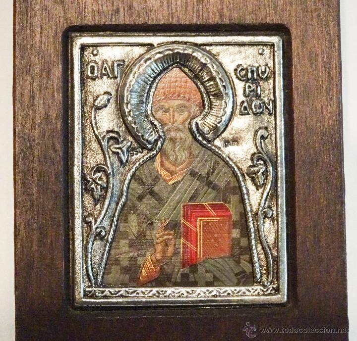 ICONO ARTE BIZANTINO SAN SPERIDON (Arte - Arte Religioso - Iconos)