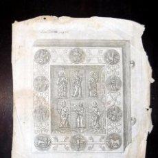 Arte: BONITO GRABADO, RELIQUIA, SIGLO XVII. Lote 171574880