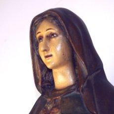 Arte: SAGRADO CORAZÓN DE MARIA. ESTUCO. OLOT(?). ESPAÑA. CIRCA 1900.. Lote 102282939