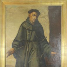 Arte: F3-016. SAN JUAN DE PADILLA. OLEO SOBRE LIENZO. ESCUELA COLONIAL. SIGLO XVII. Lote 48333055
