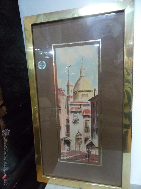 PAREJA DE ACUARELAS FIRMADAS T.SANCHO (Arte - Arte Religioso - Pintura Religiosa - Acuarela)