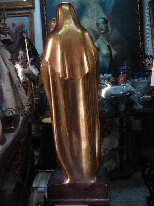 Arte: Tierna Maternidad novecentista dorada al oro fino - Foto 5 - 54855264
