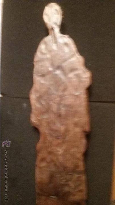 Arte: IMPRESIONANTE DEL XVIII ESCULTURA DE 60 X 20 cm SAN PABLO CON LA ESPADA TALLA MADERA 242,00 € - Foto 4 - 54858348