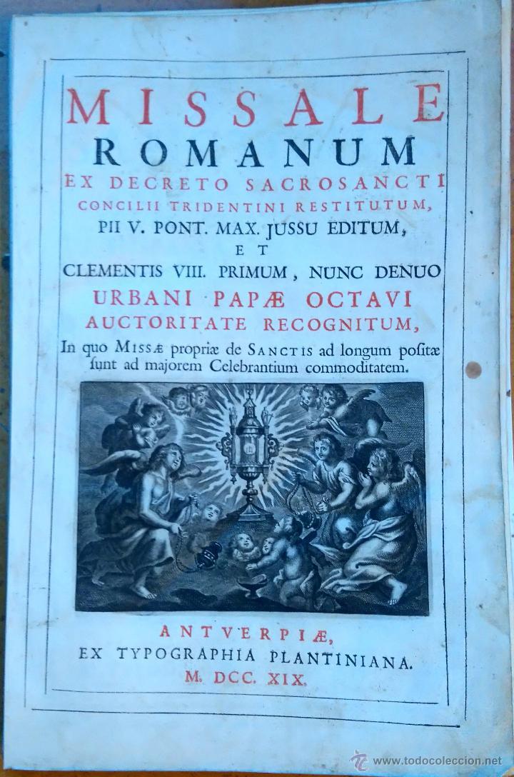 Arte: RELIGION,13 GRABADOS ORIGINALES VIDA DE JESUS,JESUCRISTO AÑO 1719- MISALE ROMANUM-PRECIOSO,300 AÑOS - Foto 2 - 54910878