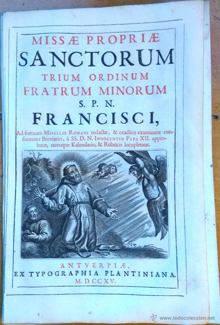 Arte: RELIGION,13 GRABADOS ORIGINALES VIDA DE JESUS,JESUCRISTO AÑO 1719- MISALE ROMANUM-PRECIOSO,300 AÑOS - Foto 4 - 54910878