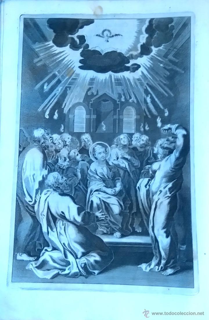 Arte: RELIGION,13 GRABADOS ORIGINALES VIDA DE JESUS,JESUCRISTO AÑO 1719- MISALE ROMANUM-PRECIOSO,300 AÑOS - Foto 8 - 54910878