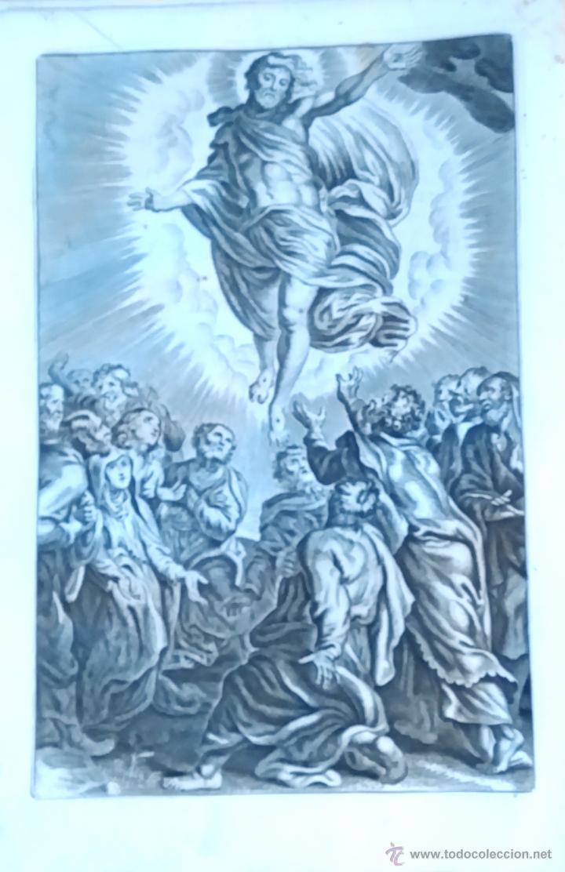 Arte: RELIGION,13 GRABADOS ORIGINALES VIDA DE JESUS,JESUCRISTO AÑO 1719- MISALE ROMANUM-PRECIOSO,300 AÑOS - Foto 9 - 54910878