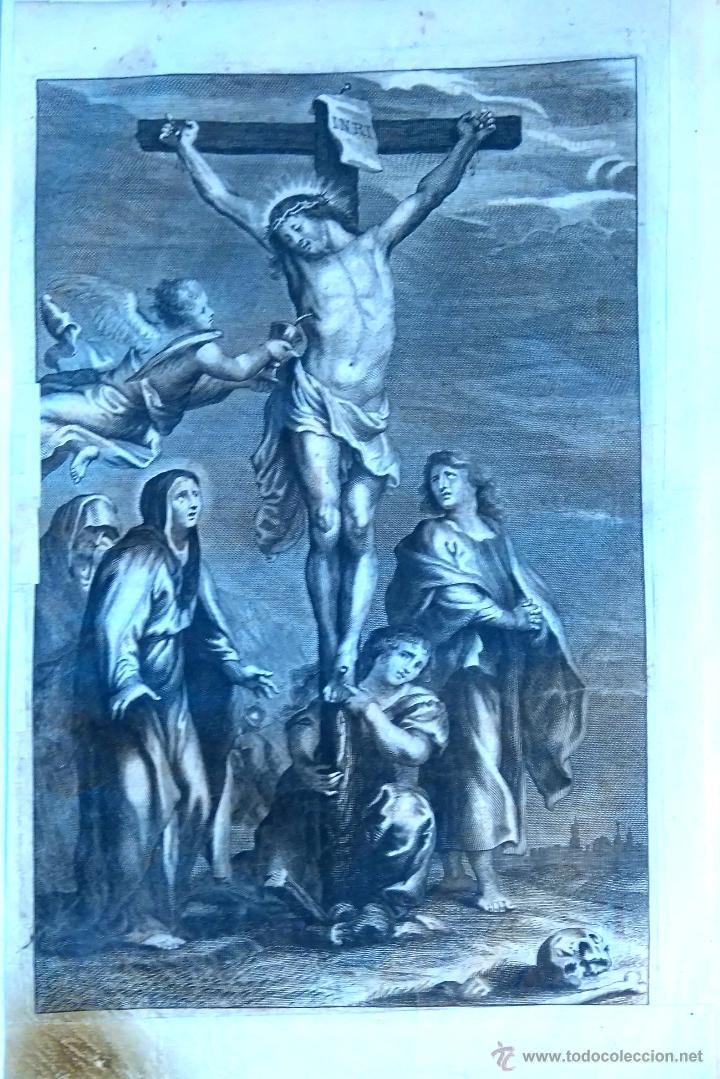Arte: RELIGION,13 GRABADOS ORIGINALES VIDA DE JESUS,JESUCRISTO AÑO 1719- MISALE ROMANUM-PRECIOSO,300 AÑOS - Foto 11 - 54910878