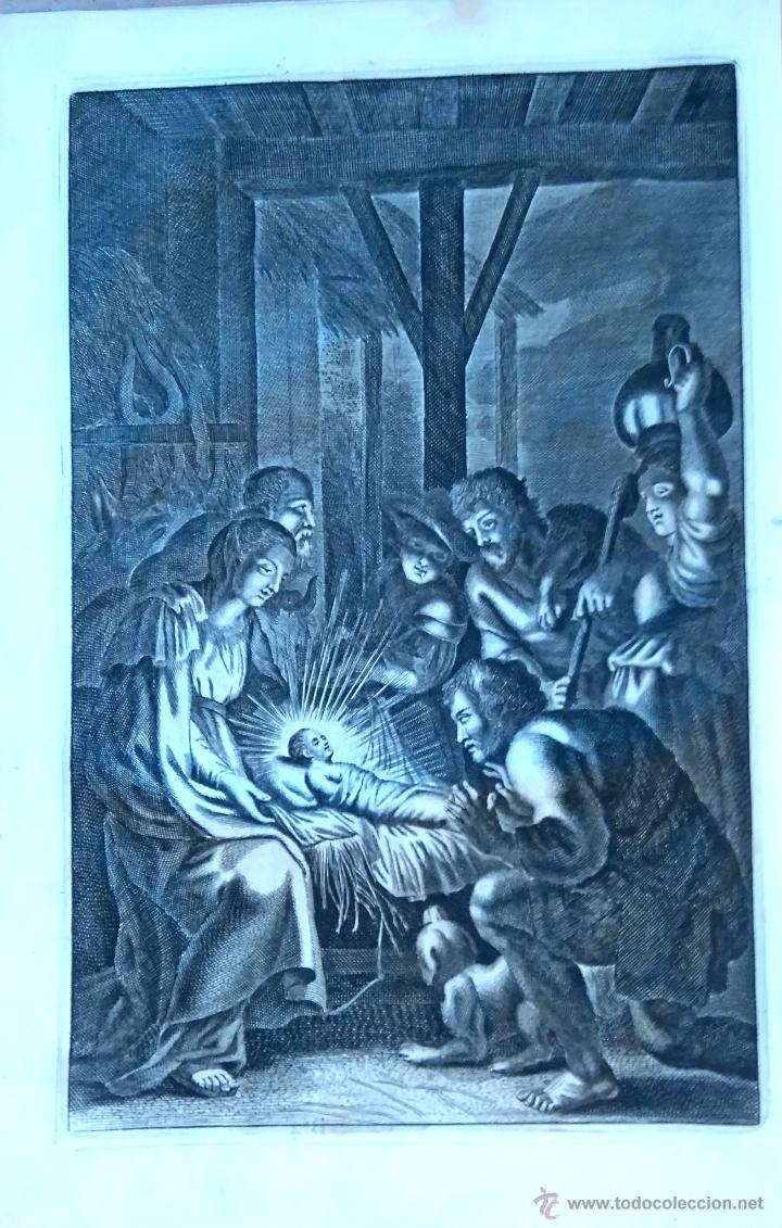 Arte: RELIGION,13 GRABADOS ORIGINALES VIDA DE JESUS,JESUCRISTO AÑO 1719- MISALE ROMANUM-PRECIOSO,300 AÑOS - Foto 13 - 54910878