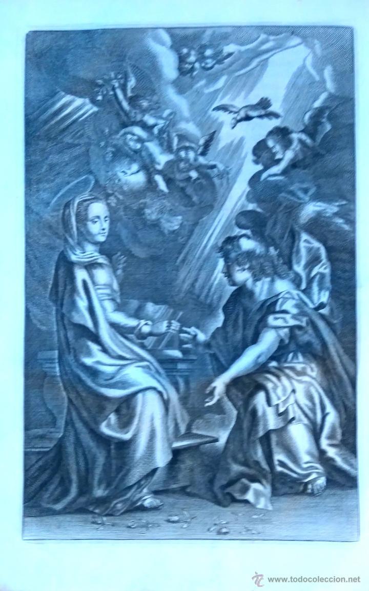 Arte: RELIGION,13 GRABADOS ORIGINALES VIDA DE JESUS,JESUCRISTO AÑO 1719- MISALE ROMANUM-PRECIOSO,300 AÑOS - Foto 14 - 54910878