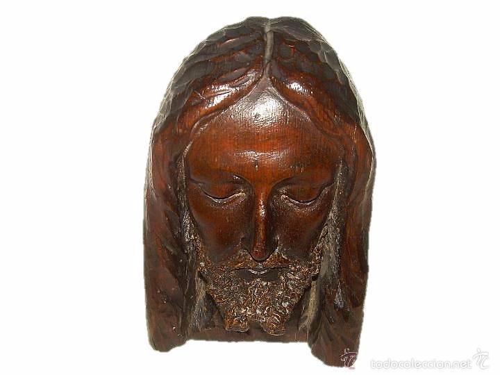 IMPORTANTE Y PRECIOSA TALLA DE MADERA.....SIGLO - XIX. (Arte - Arte Religioso - Escultura)