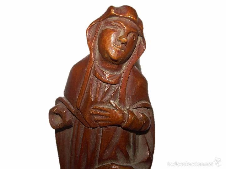 ANTIGUA TALLA DE MADERA.....FINALES SIGLO XVIII - PRINCIPIOS SIGLO XIX. (Arte - Arte Religioso - Escultura)