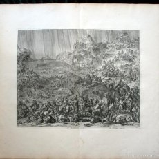 Arte: 1729 GRABADO - BIBLIA - EL DILUVIO UNIVERSAL - JOHANNES LUYKEN - GRABADO - ENGRAVING. Lote 55793343