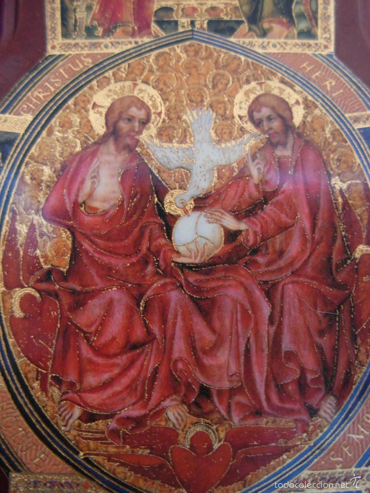Arte: Bonito icono Cruz de la Trinidad. Lámina sobre madera - Foto 2 - 56201895