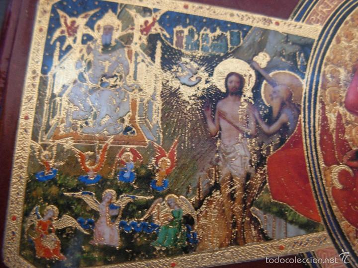 Arte: Bonito icono Cruz de la Trinidad. Lámina sobre madera - Foto 5 - 56201895
