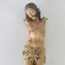 Arte: CRISTO MUTILADO EN MADERA POLICROMADA , FINALES S. XVIII. Lote 56204130
