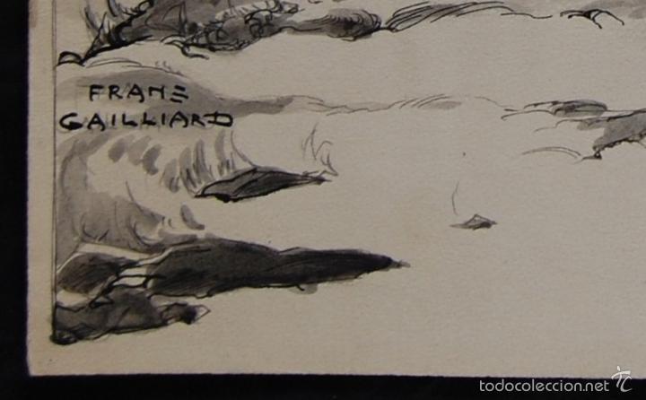 Arte: PROFETA: EL CALVO ELISÉO - FRANS GAILLIARD (Bélgica, 1861-1932) - Foto 2 - 27956275