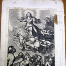 Arte: DOS GRABADOS RELIGIOSOS. Lote 56307601