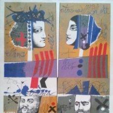 Arte: LITOGRAFIA JOSEP MARIA ROVIRA BRULL, FIRMADA A MANO. MED. 50 X 70 CM. Lote 56335661