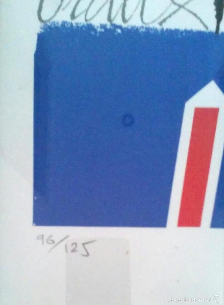 Arte: Litografia Josep Maria Rovira Brull, firmada a mano. Med. 50 x 70 cm - Foto 3 - 56335661