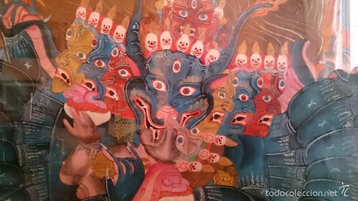 Arte: ANTIGUO TANKA TIBETANO - Foto 5 - 56584879