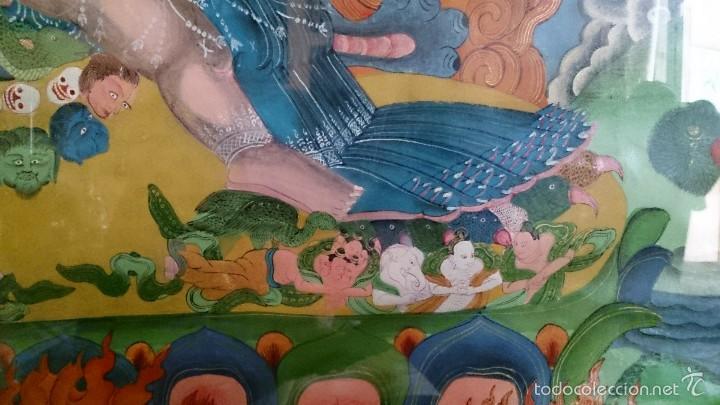 Arte: ANTIGUO TANKA TIBETANO - Foto 10 - 56584879
